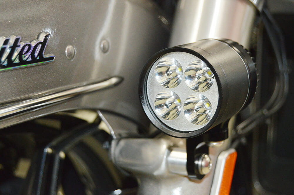 Hd006a Fork Mounted Led Driving Light Set For 1996 2013
